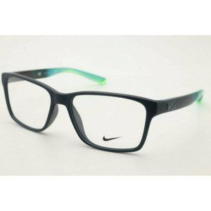 New Nike NK 7091 413 Matte Black Eyeglasses 54mm